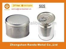 Cylindrical container - Metal Empty tin cans