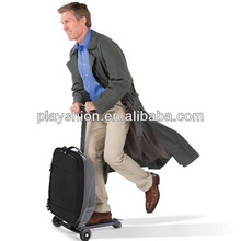 New Arrival Airline Cabin Size Hand Luggage Carry On Trolley Luggage Scooter