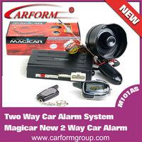 new magic car alarm remote control universal anti-hijacking car alarm system/M101AS