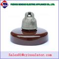 Aislante anti contaminación por hidrocarburos disco de porcelana Aislante para alta tensión