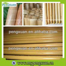 Wood Broom Stick wth Varnished Finishing