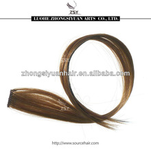 ZSY wholesale price small piece synthetic clip-in hair extensions for child
