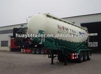 dry bulk cement transport tanker semi trailer