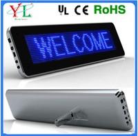 LED scrolling board table led display&table desktop mini led display screen