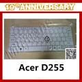 venta al por mayor del ordenador portátil de pantalla táctil del teclado para acer aspire one d255 d257 d260 teclado
