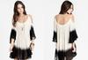 Cool fancy ladies dipdyed cotton tunic dress