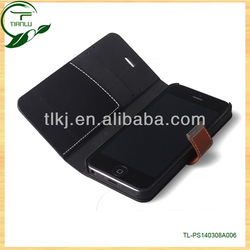 2014 the latest design&factory price OEM/ODM welcome hot selling leather flip case cover for apple iphone 3g
