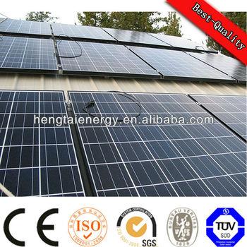 cheap price per watt solar panel 110W chinese solar panels price