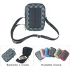 Small solar mobile phone charger bag with 1.8 watts solar panel and 5000mah battery
