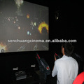 interactivo pistolas de tiro juegos 7d cine