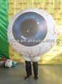 インフレータブル眼球衣装