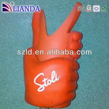High Resilient PU Foam (HR PU Foam) / finger / any shape
