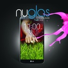 Shenzhen nuglas premium tempered glass screen protector cover for lg g2