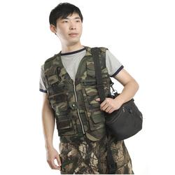 Camo Combat Tactical safari hunting vests motorcycle chopper