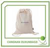 Eco-friendly Cotton muslin drawstring bag wholesale