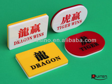 Casino Baccarat Dragon and Tiger Button Set
