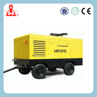 17 Bar Screw Diesel Driven Porable Air Compressor For Construction Mining