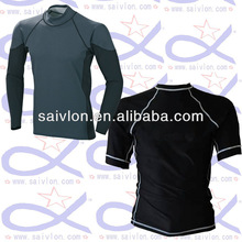 Mens Rash Guard Swim Shirt SPF 50 Loose Fit Fitting Swimwear