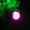 led flashing bouncing ball with multi-color light rechargeable