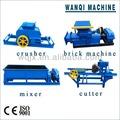 Baratos de tijolo de barro que faz a máquina/vácuo clay brick tornando máquinas de zhengzhou 86-15238692229