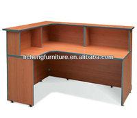 Modern office table desk reception