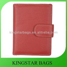 Plain quality leather purse for women