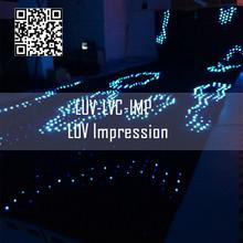 led tri-color curtain sign/led sign curtain lights