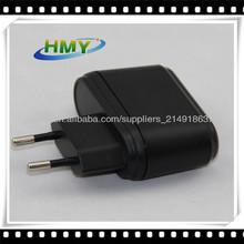 Portable Europe EU Adapter 220V 5V 2A with USB Output