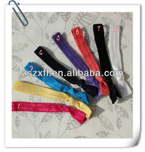 Stylish fold over elastic for headband