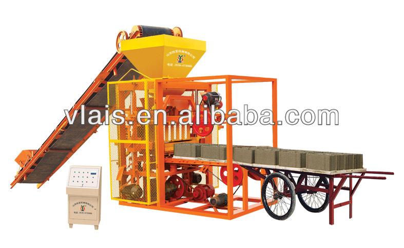 Guangzhou Manufacturer!! QTJ4-26A Hydraulic Cement Block Machine, Automatic Concrete Brick Machine
