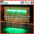 Acero inoxidable 304 la decoración del hogar artificial cascadas para el hogar