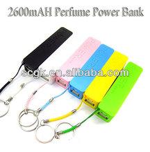 For mobile phone Power bank 2600mah manual for power bank