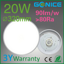 Aluminum bulkhead light fitting, white LED dome light
