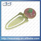 promotional wholesale metal bookmark