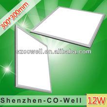 2014 square recessed led panel light 12W DC24V Daylight