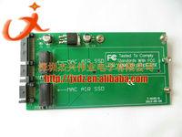FOR Dual Apple MACBOOK AIR A1369 A1370 A1377 SSD to 3.5 SATA converter Adapter card (PA5025B), Macbook Air SSD to SATA