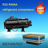 milk cooling tank parts fridge condenser units R404A ce rohs lanhai boyard horizontal rotary compressor QHD-36K replace scroll
