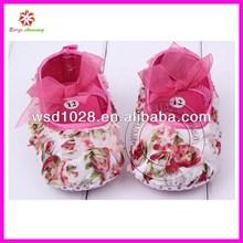 Colorido cordón zapatos de bebé niña, dulce de zapatos de bebé niña, encaje precioso zapatos de bebé