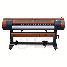 Fast Print Speed Outdoor Solvent Printer 1.8m with 4 Spectra Polaris 512/35pl Print Heads