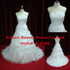 Strapless Plus Size A Line Floor Length Wedding Gown Beautiful Wedding Dress Partern