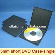 5.2mm black slim mini portable dvd player case