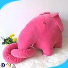 wholesale cute mini stuffed elephant toy,pink plush elephant doll