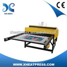 High Pressure Large Format Pneumatic Flat Heat Press Heat Transfer Printing Heat Transfers
