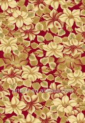 Luxury stereo flower wool rugs