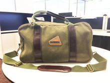 Latest western 16oz canvas military duffle bag