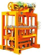 QTJ4-40II concrete block making machine from Beijing ZCJK