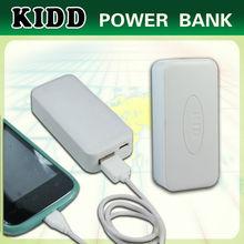 Good travel partner mobile external power bank 4400mah for all mobile phones