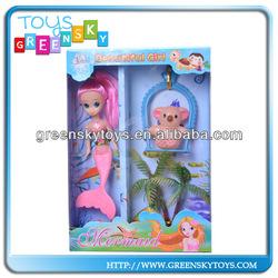 """5"""" Little girl models mermaid dolls"""