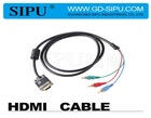 SIPU High speed 3 rca to hdmi cable wholesale