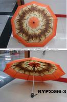 RYP3366-3 Tiger stripes print umbrella